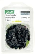 ALM Shading & Insulation Fixers - Pack of 20